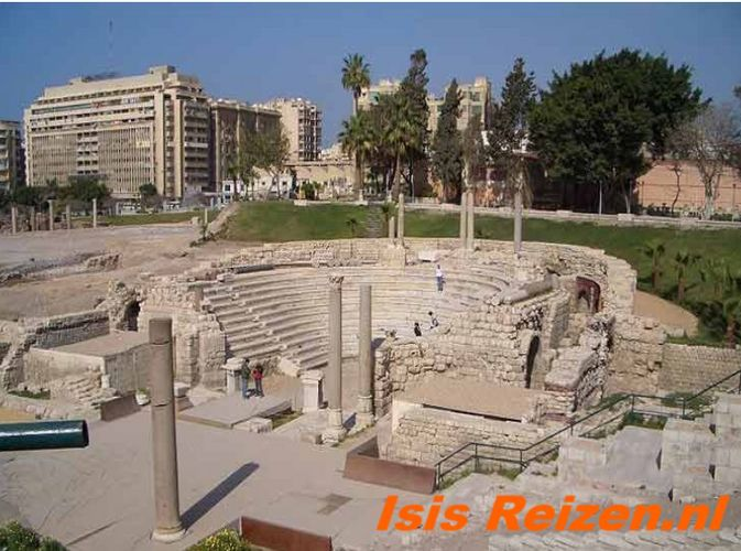 Romeinse theater in Alexandria1